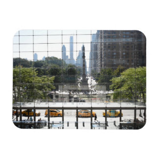 Overlooking Columbus Circle New York City Photo Magnet