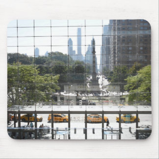 Overlooking Columbus Circle New York City Photo Mouse Pad