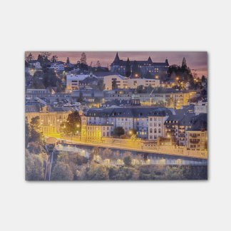 Overlooking Fribourg in the early evening Post-it® Notes