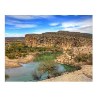 Overlooking the Rio Grande Postcard