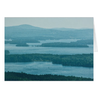 Overlooking Winnipesaukee Card