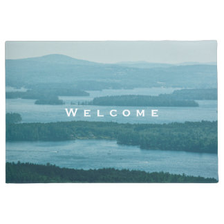 Overlooking Winnipesaukee Doormat