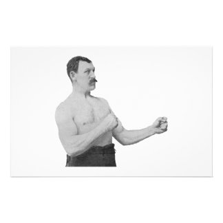 Overly Manly Man Meme Stationery Paper