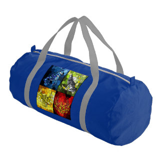 Overnight Gym bag (Double Sided Acad/House)