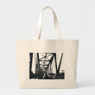 overpass large tote bag