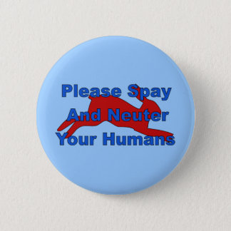 Overpopulation Bombs 2 Inch Round Button