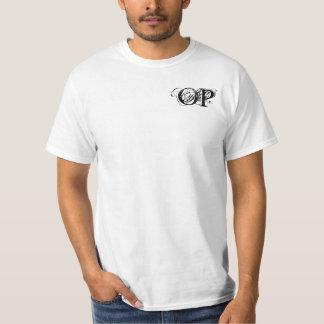 Overpowered White T-Shirt