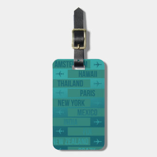 Overseas International Travel Luggage Tag