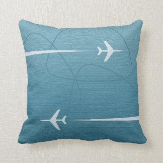 Overseas International Travel Throw Pillow