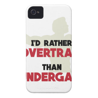 Overtrain iPhone 4 Case-Mate Cases