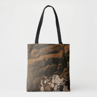 """""""Overturn"""" All-Over-Print Tote Bag"""