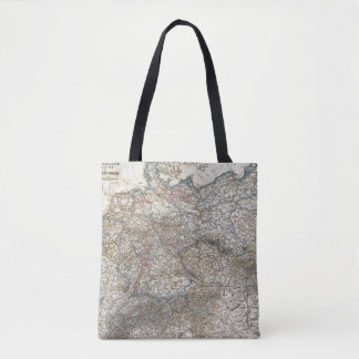 Overview of German Empire Tote Bag