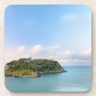 Overview of San Nicolas island, long exposure. Drink Coaster