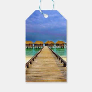 Overwater bungalows at Sheraton Maldives Gift Tags