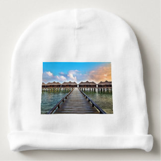 Overwater Bungalows Baby Beanie