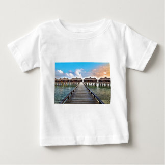 Overwater Bungalows Baby T-Shirt