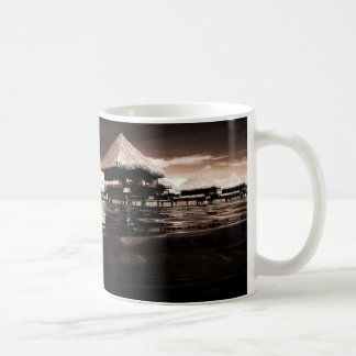 Overwater Bungalows Coffee Mug