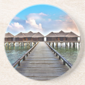 Overwater Bungalows Drink Coasters