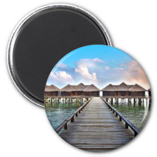 Overwater Bungalows Magnet