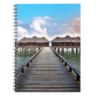 Overwater Bungalows Notebook