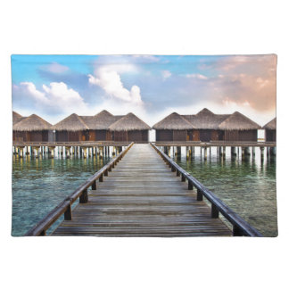 Overwater Bungalows Placemat