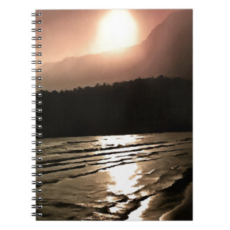Overwhelming Waves of Sadness Spiral Notebook