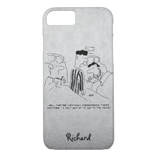 Overworked Hospital Doctors iPhone 8/7 Case
