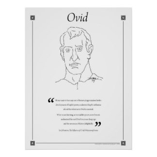 Ovid Writing Quote Poster
