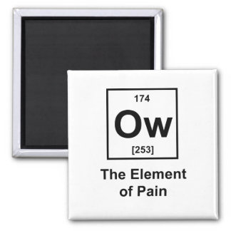 Ow, The Element of Pain Fridge Magnets