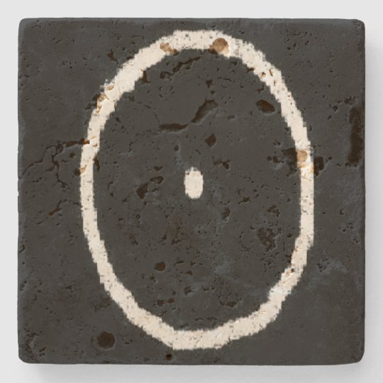 oWa.ii Stone Beverage/Drink Coaster on Travertine Stone Coaster