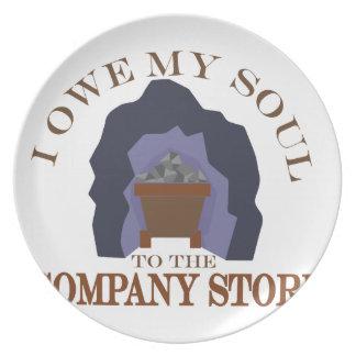 Owe My Soul Plate