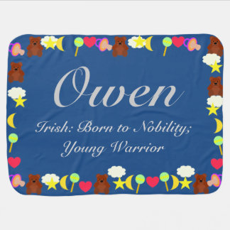 Owen Baby Blanket Template
