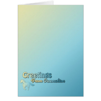 Owenation Greeting Card