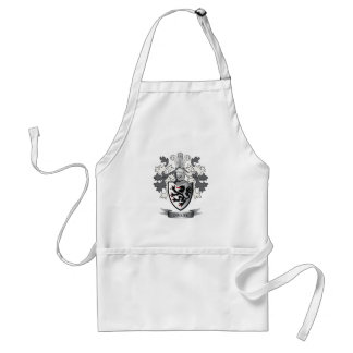 Owens Family Crest Coat of Arms Standard Apron