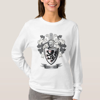 Owens Family Crest Coat of Arms T-Shirt