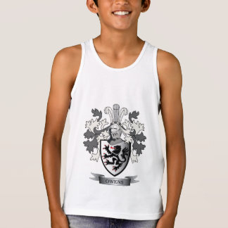 Owens Family Crest Coat of Arms Tank Top