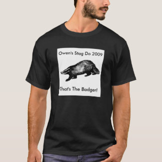 Owen's Stag Do - Black T-Shirt
