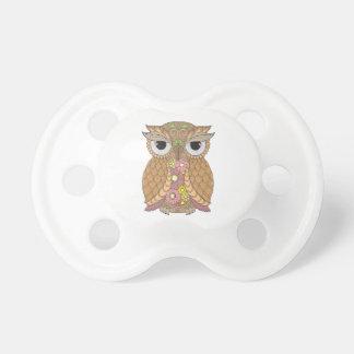 Owl 1 pacifier