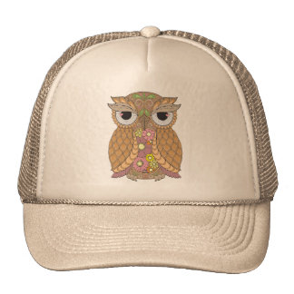 Owl 1 trucker hat