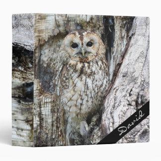 Owl 3 Ring Binder