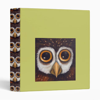 Owl 3 Ring Binders