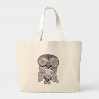 Owl - Abstract Bag