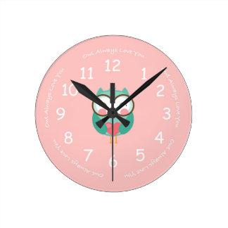 Owl Always Love You Clock