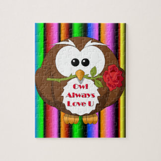 Owl Always Love You Theme Puzzle