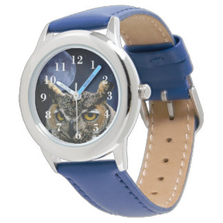 Owl and Blue Moon Watch