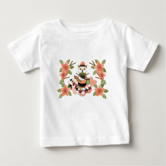 Owl and carp /An owl and a carp Baby T-Shirt