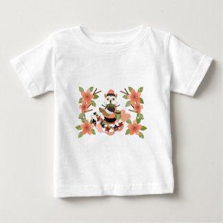 Owl and carp /An owl and a carp Baby T-Shirt