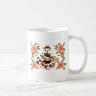 Owl and carp /An owl and a carp Coffee Mug