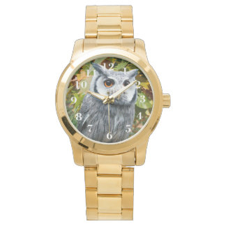 Owl and Leaves Watch