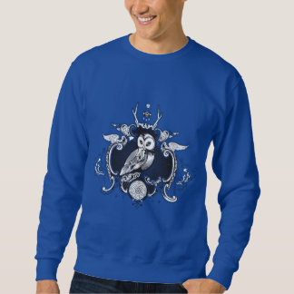 Owl and mirror sweatshirt